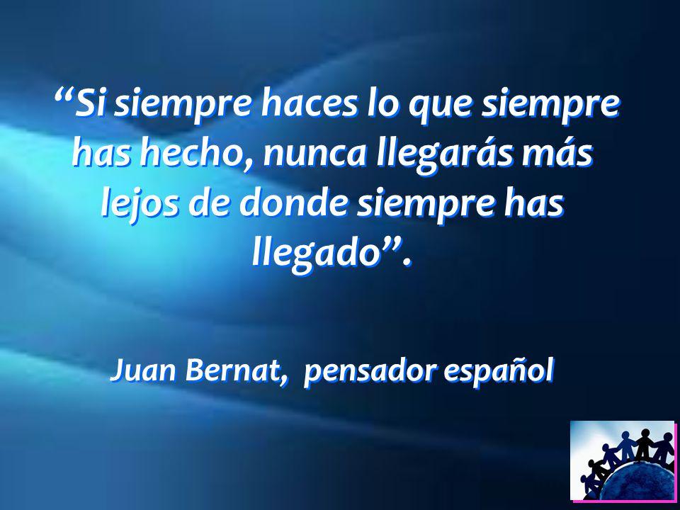 Juan Bernat, pensador español