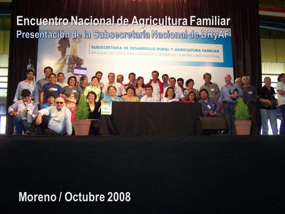 Encuentro Nacional de Agricultura Familiar