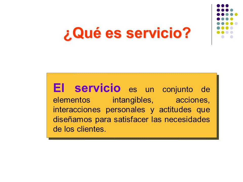 ¿Qué es servicio