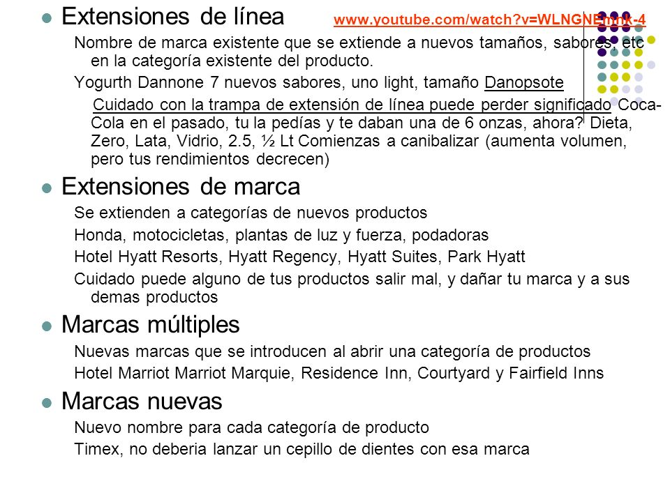 Extensiones de línea www.youtube.com/watch v=WLNGNEmnk-4