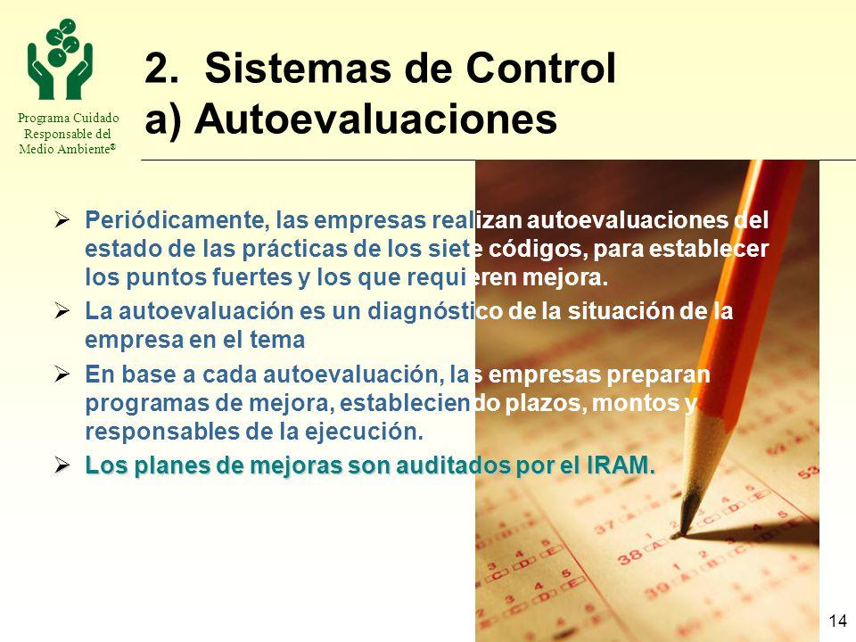 2. Sistemas de Control a) Autoevaluaciones