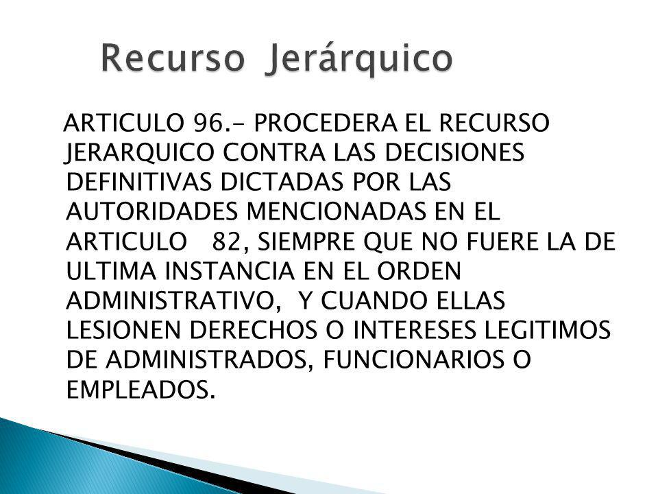 Recurso Jerárquico