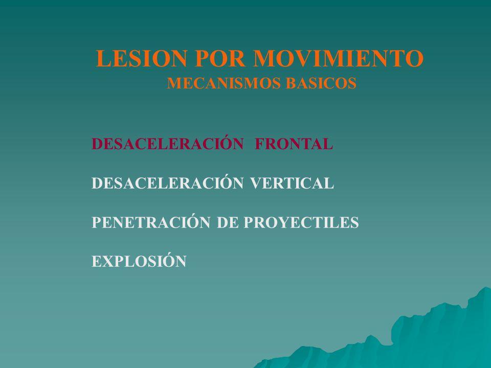 LESION POR MOVIMIENTO MECANISMOS BASICOS