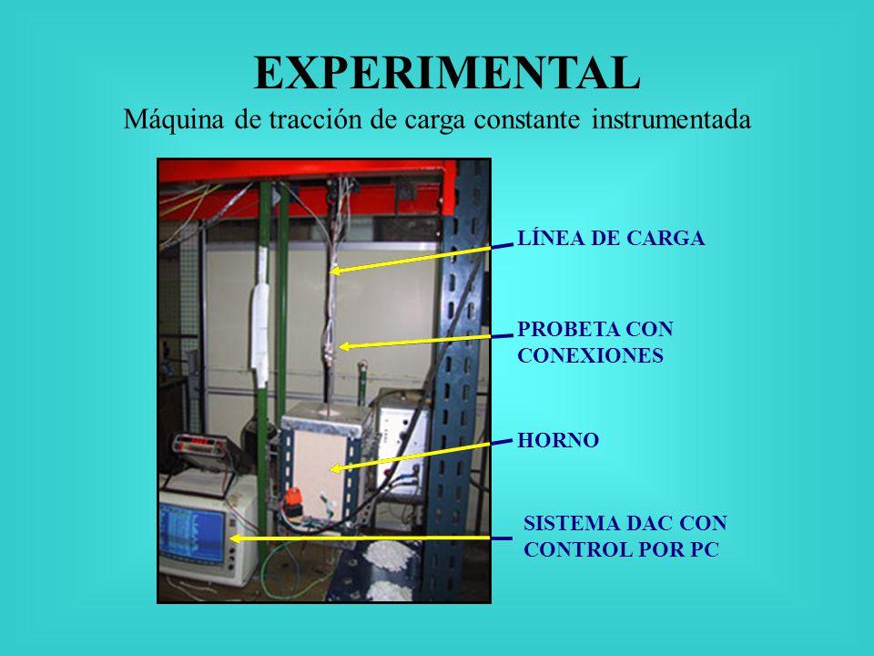 Máquina de tracción de carga constante instrumentada