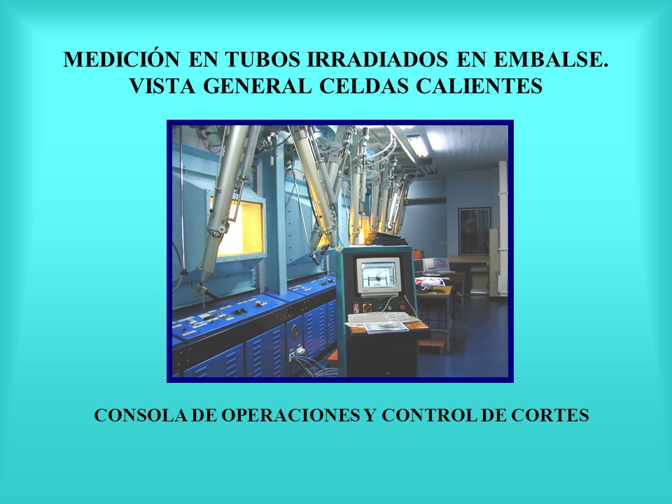 CONSOLA DE OPERACIONES Y CONTROL DE CORTES