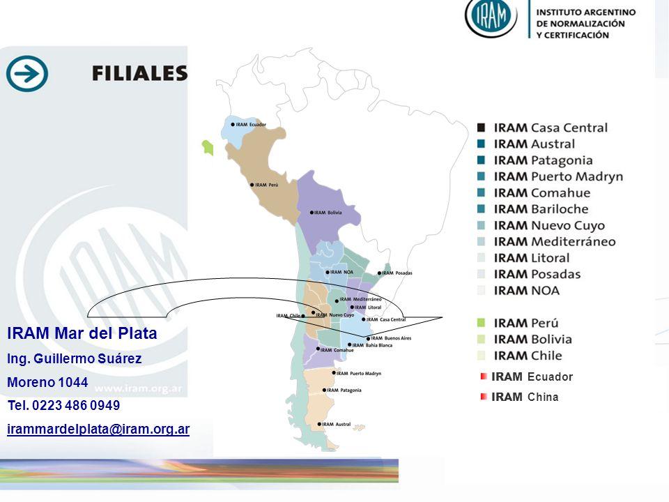 IRAM Mar del Plata Ing. Guillermo Suárez Moreno 1044
