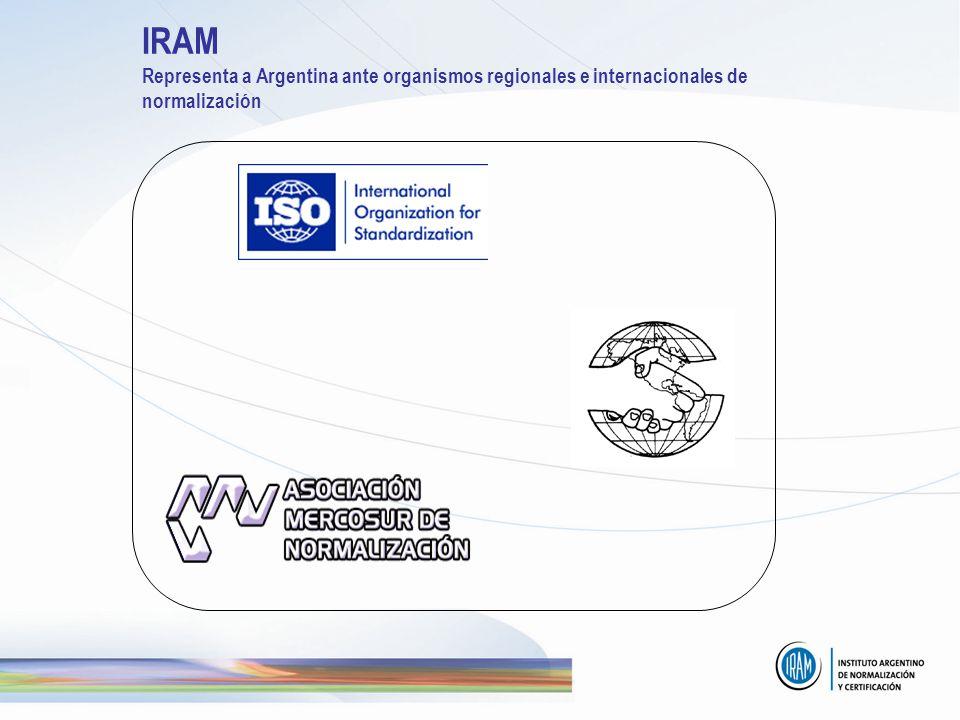 IRAM Representa a Argentina ante organismos regionales e internacionales de normalización