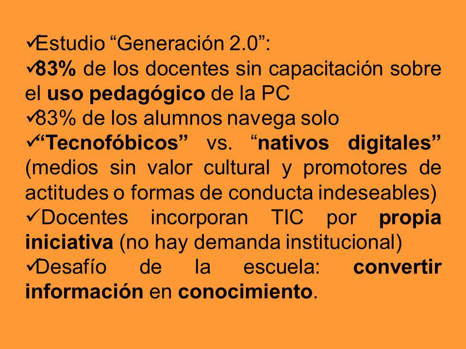 Estudio Generación 2.0 :