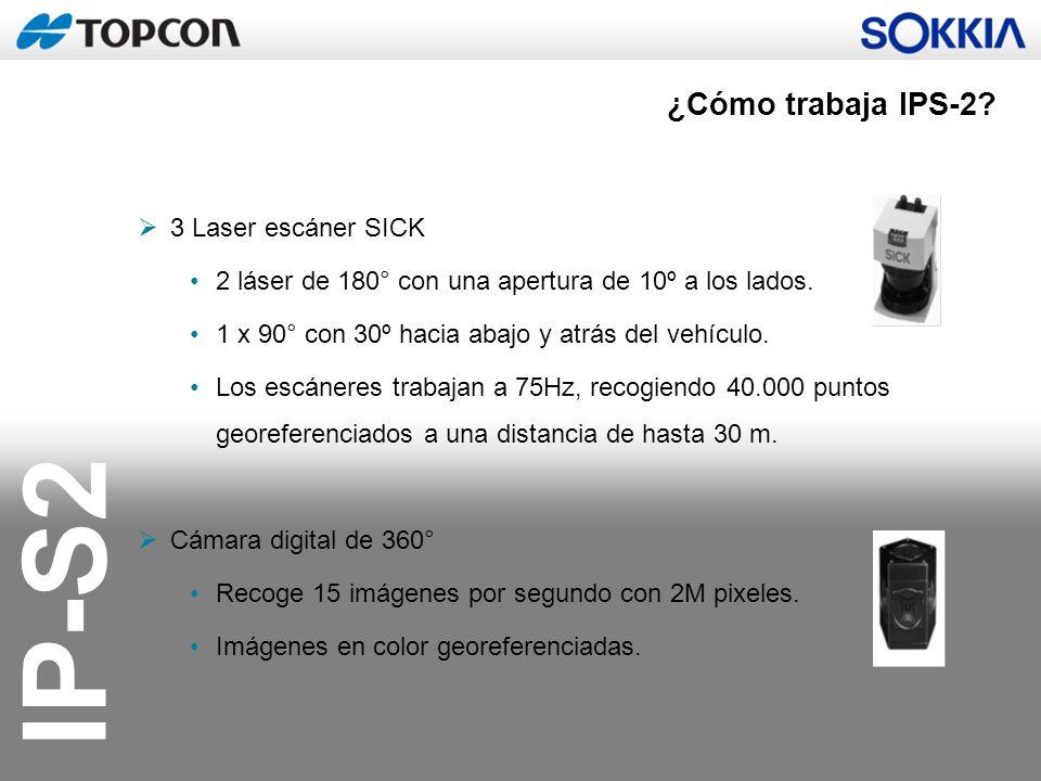 ¿Cómo trabaja IPS-2 3 Laser escáner SICK