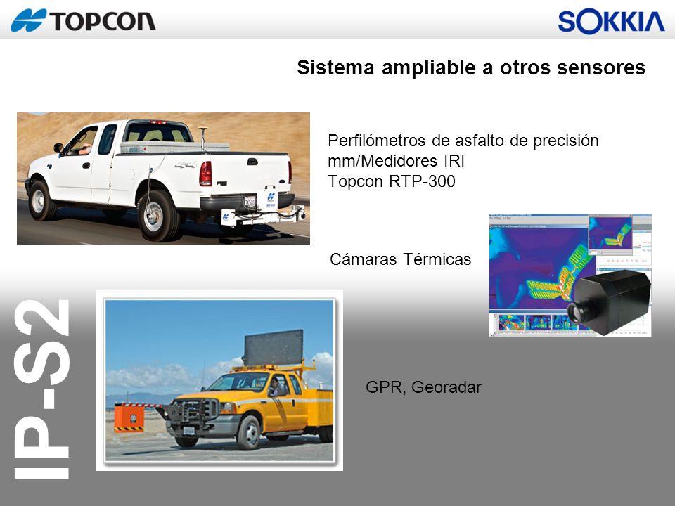 Sistema ampliable a otros sensores