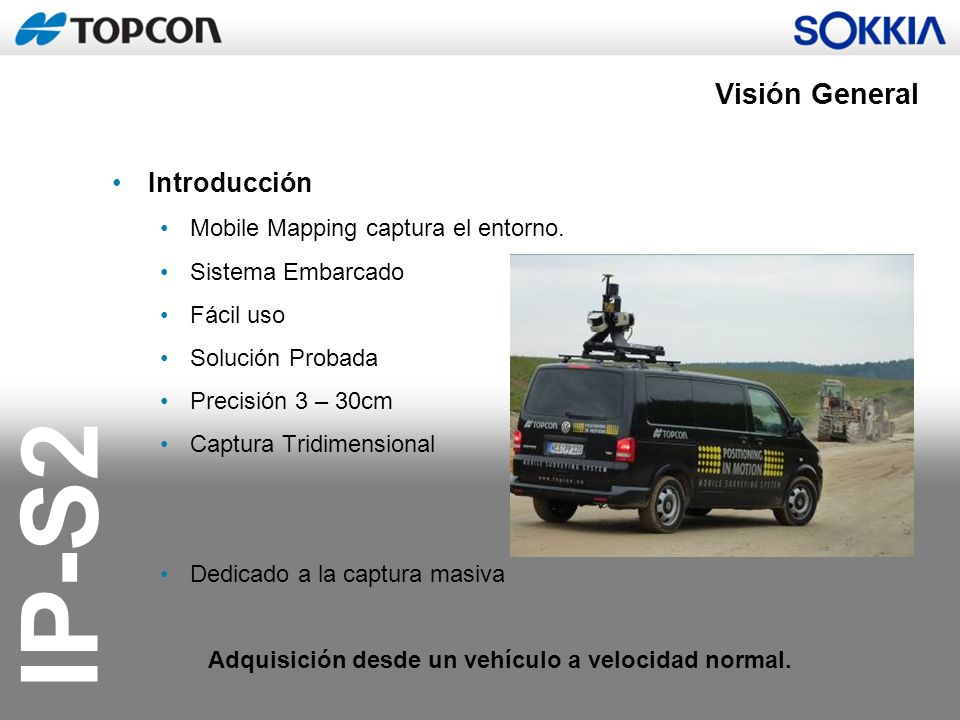 Visión General Introducción Mobile Mapping captura el entorno.
