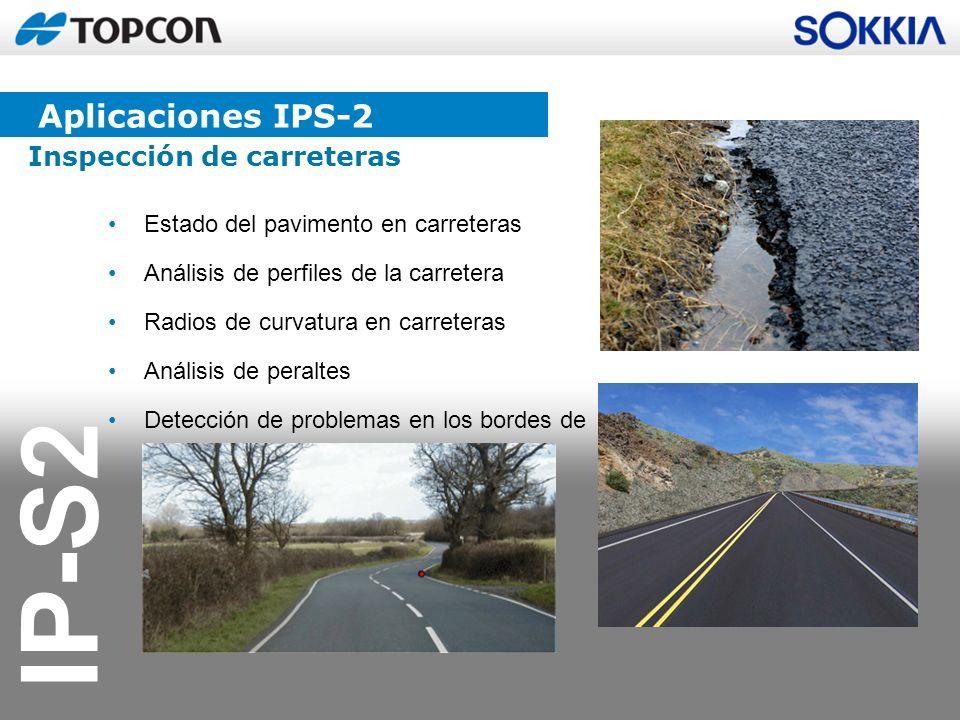 Aplicaciones IPS-2 Inspección de carreteras