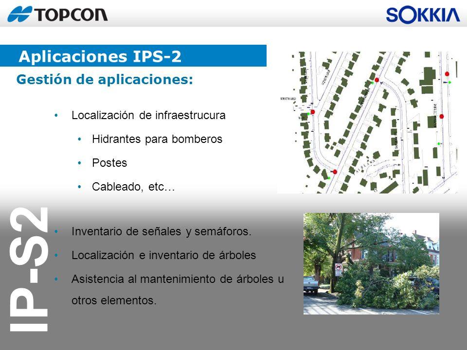 Aplicaciones IPS-2 Gestión de aplicaciones: