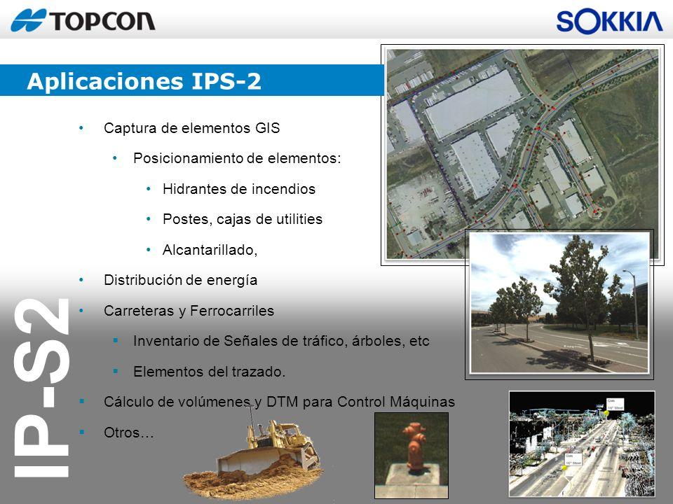 Aplicaciones IPS-2 Captura de elementos GIS