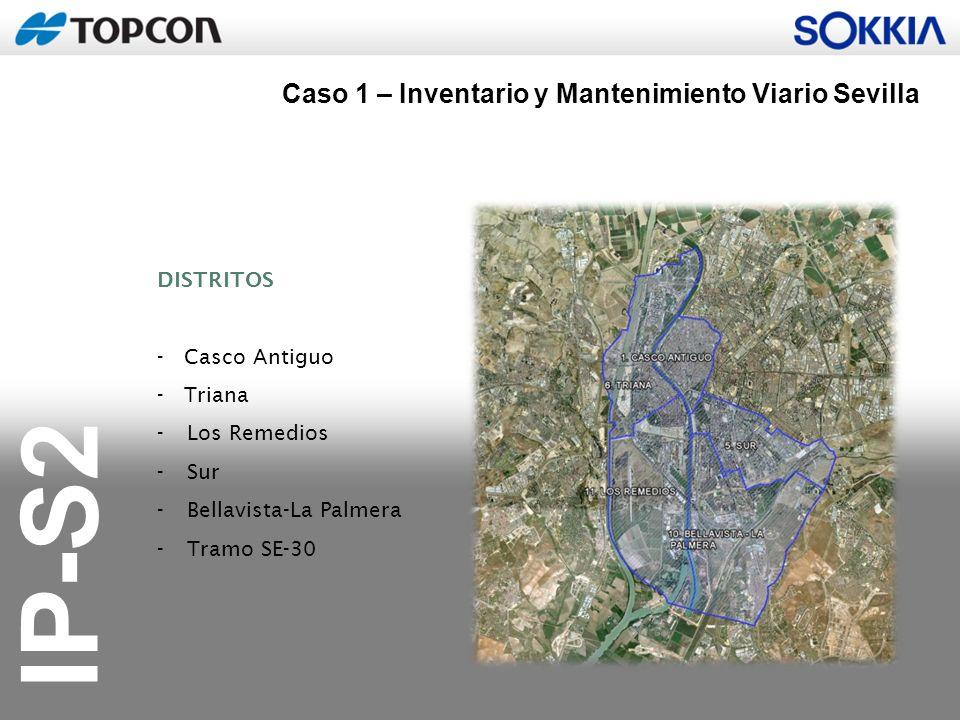 Caso 1 – Inventario y Mantenimiento Viario Sevilla