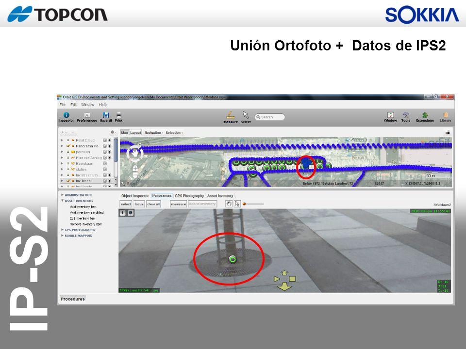 Unión Ortofoto + Datos de IPS2
