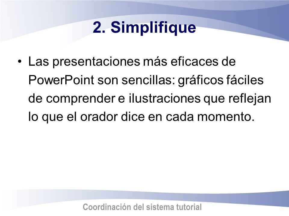 2. Simplifique