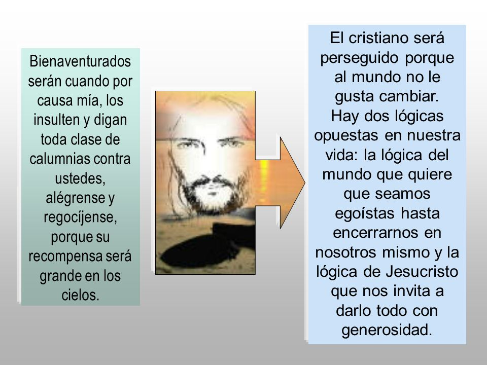 El cristiano será perseguido porque al mundo no le gusta cambiar.