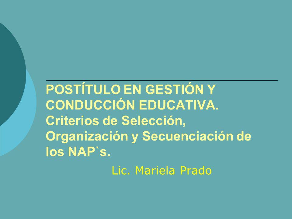 POSTÍTULO EN GESTIÓN Y CONDUCCIÓN EDUCATIVA