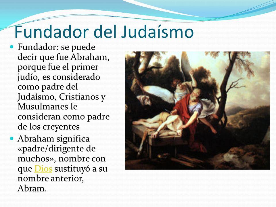 Fundador del Judaísmo