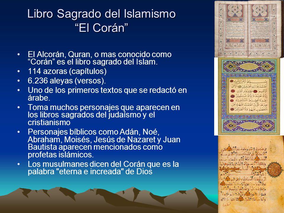 Libro Sagrado del Islamismo El Corán