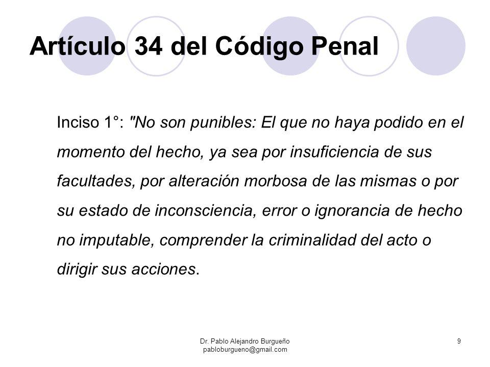Artículo 34 del Código Penal