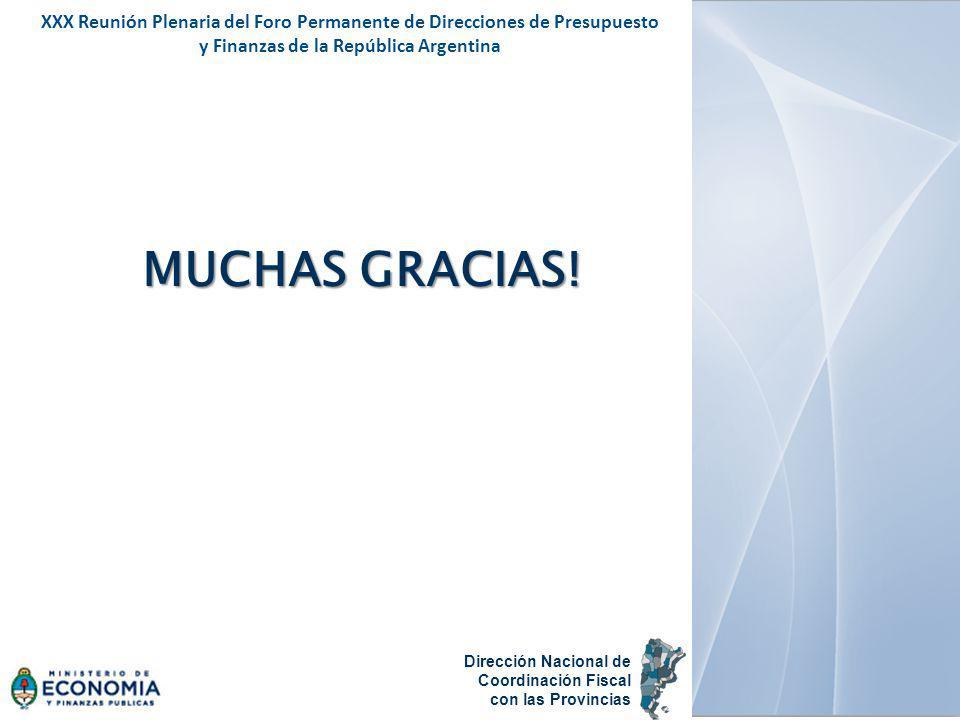 XXX Reunión Plenaria del Foro Permanente de Direcciones de Presupuesto