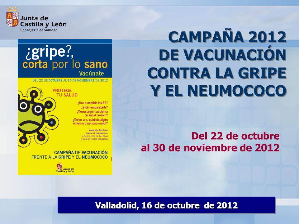 Valladolid, 16 de octubre de 2012