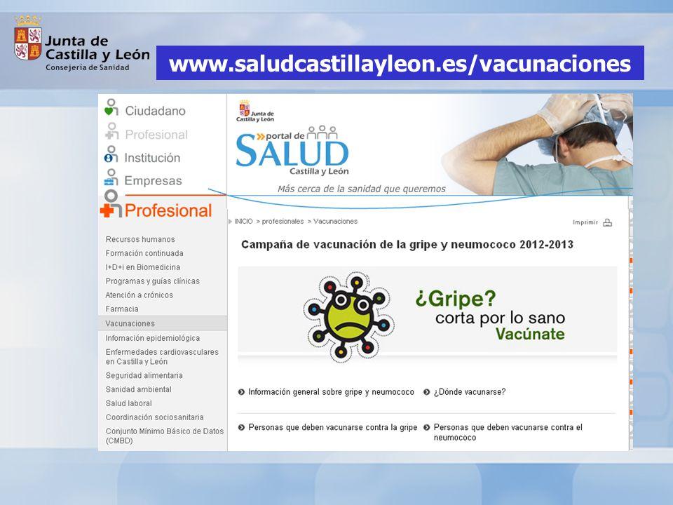 www.saludcastillayleon.es/vacunaciones