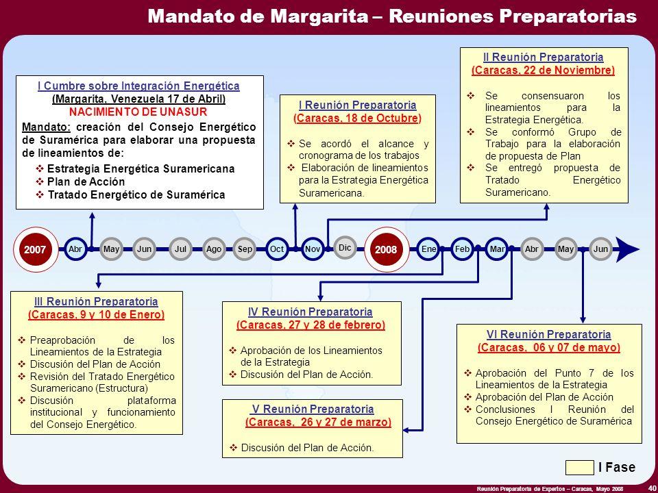 II Reunión Preparatoria (Caracas, 22 de Noviembre)