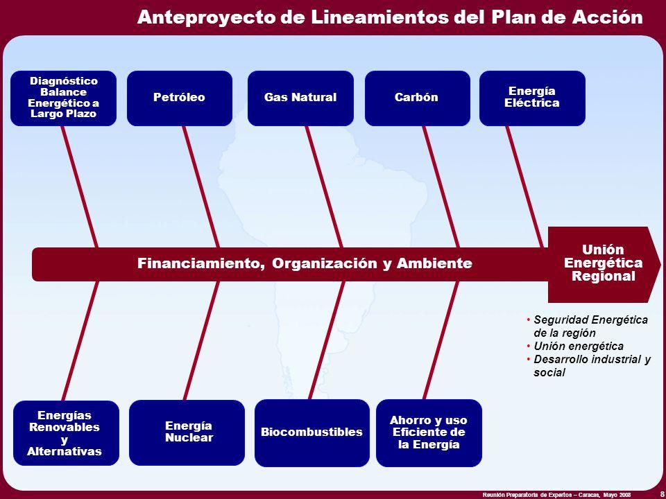 Anteproyecto de Lineamientos del Plan de Acción
