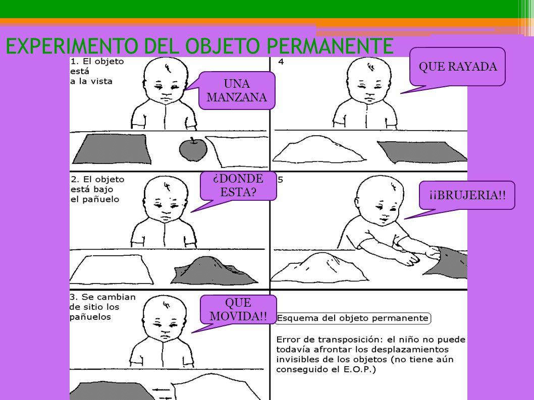 EXPERIMENTO DEL OBJETO PERMANENTE