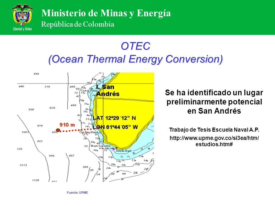 OTEC (Ocean Thermal Energy Conversion)