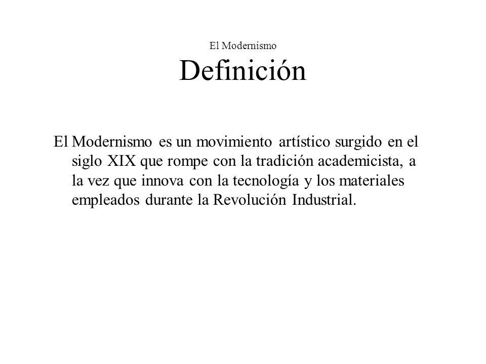 El Modernismo Definición