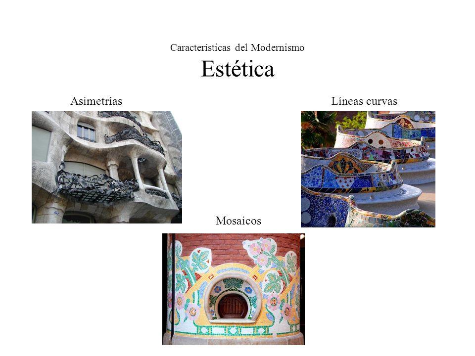 Características del Modernismo Estética