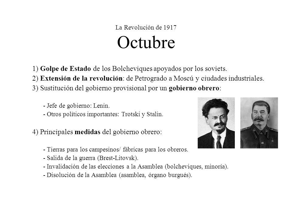 La Revolución de 1917 Octubre