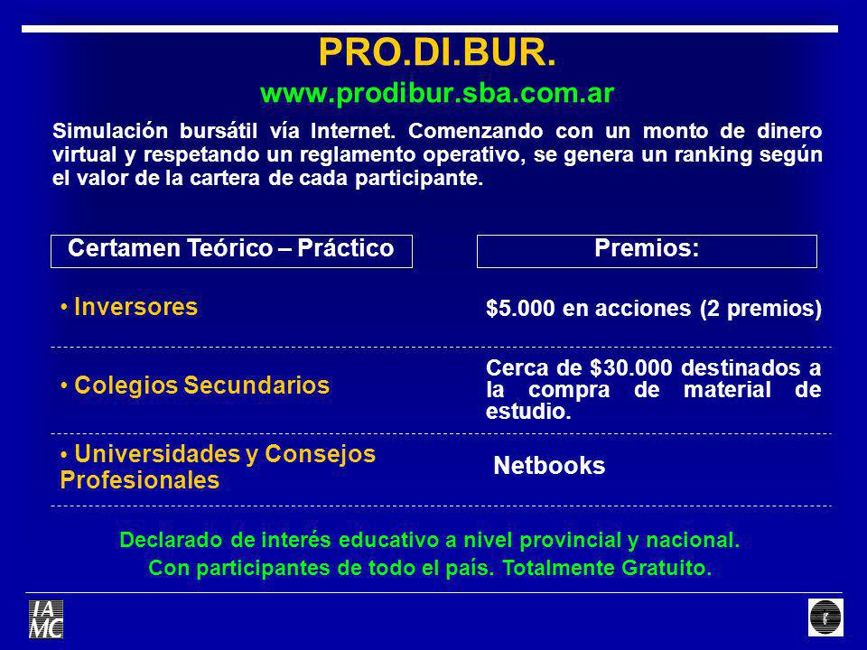 PRO.DI.BUR. www.prodibur.sba.com.ar