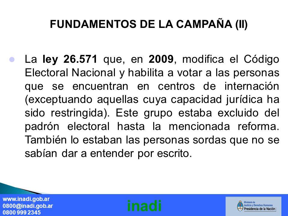 FUNDAMENTOS DE LA CAMPAÑA (II) Derecho a la salud sin discriminación