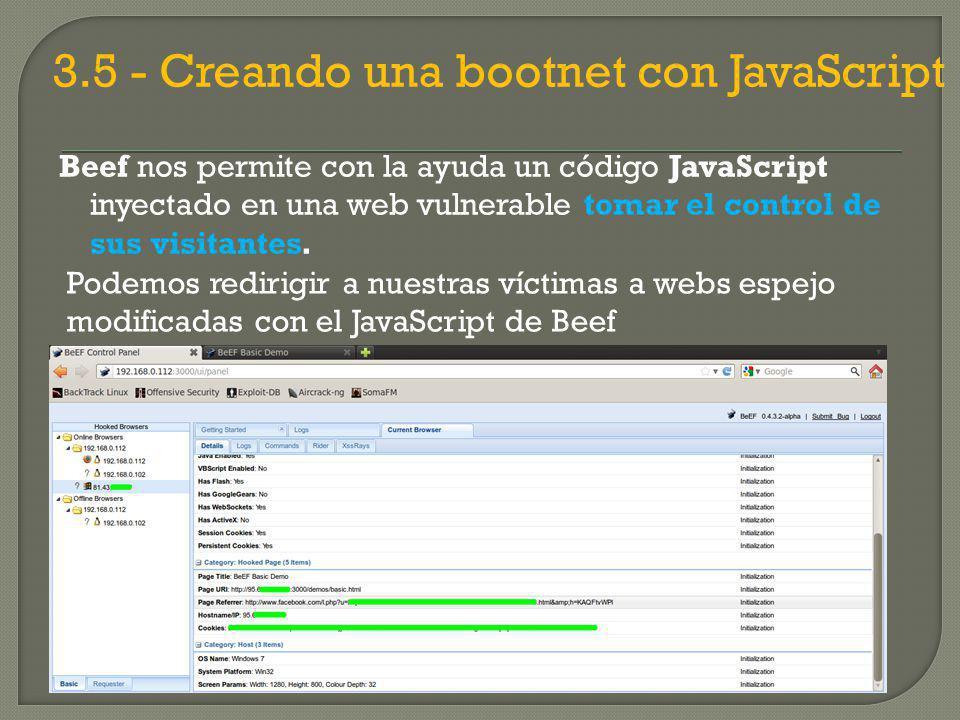 3.5 - Creando una bootnet con JavaScript