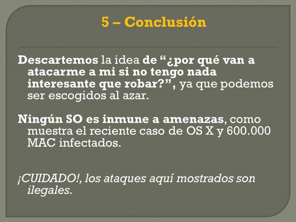 5 – Conclusión
