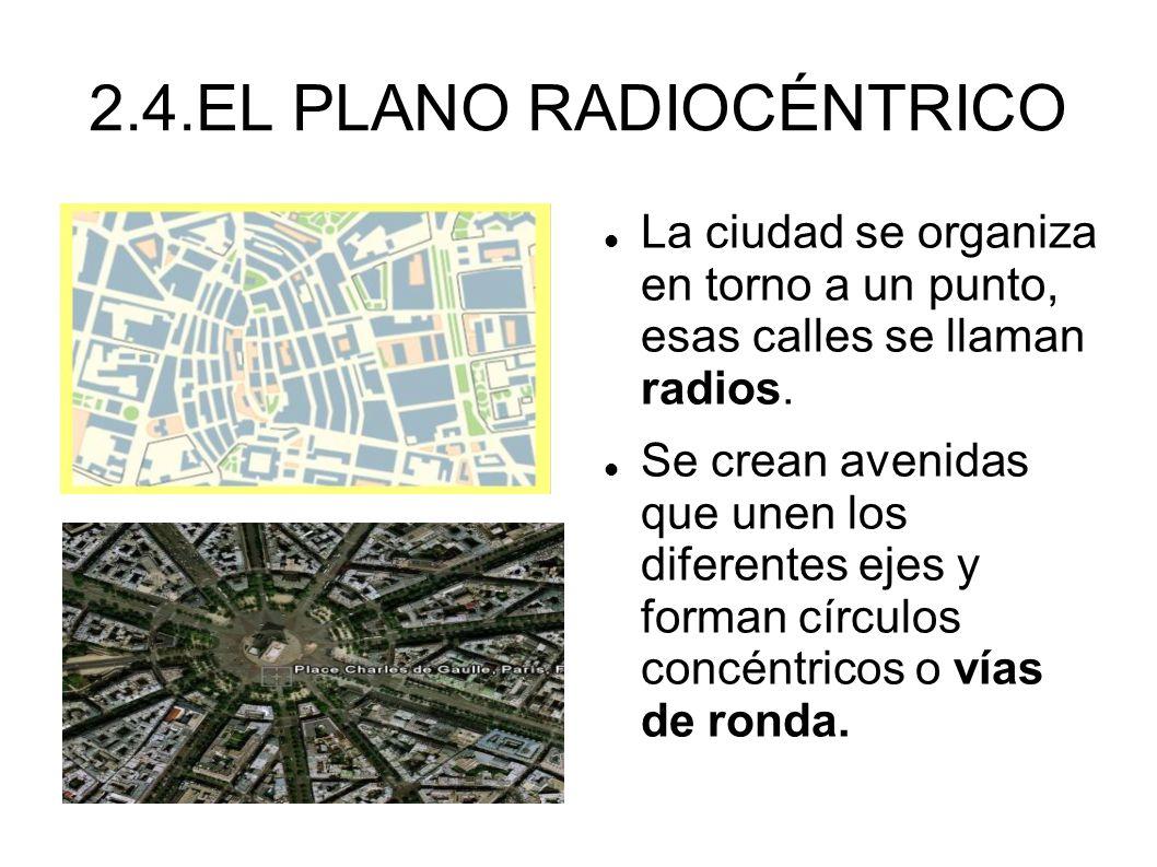 2.4.EL PLANO RADIOCÉNTRICO