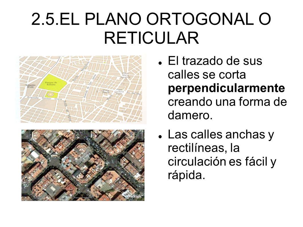 2.5.EL PLANO ORTOGONAL O RETICULAR