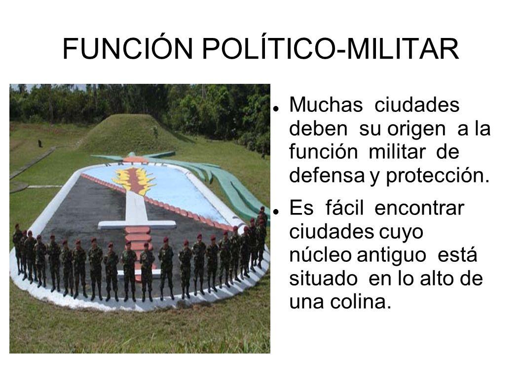 FUNCIÓN POLÍTICO-MILITAR