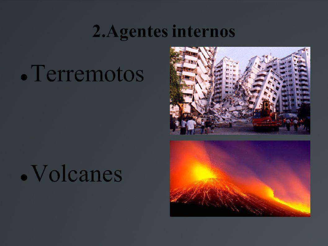 2.Agentes internos Terremotos Volcanes