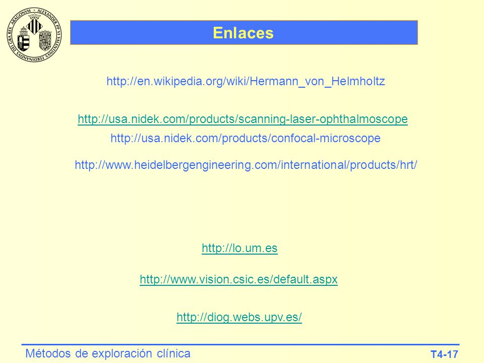 Enlaces http://en.wikipedia.org/wiki/Hermann_von_Helmholtz