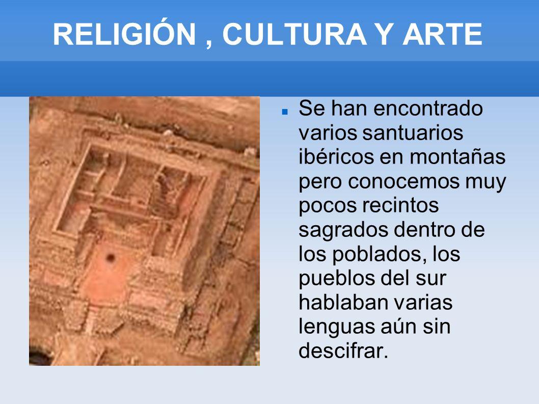 RELIGIÓN , CULTURA Y ARTE