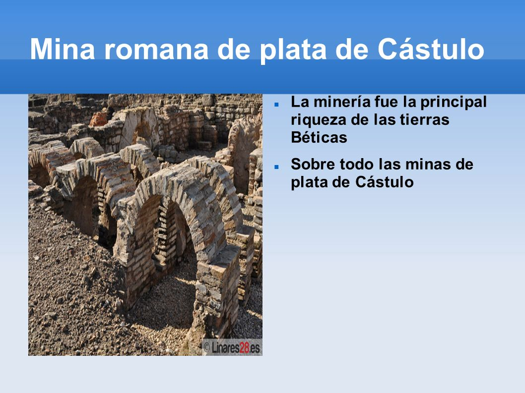 Mina romana de plata de Cástulo