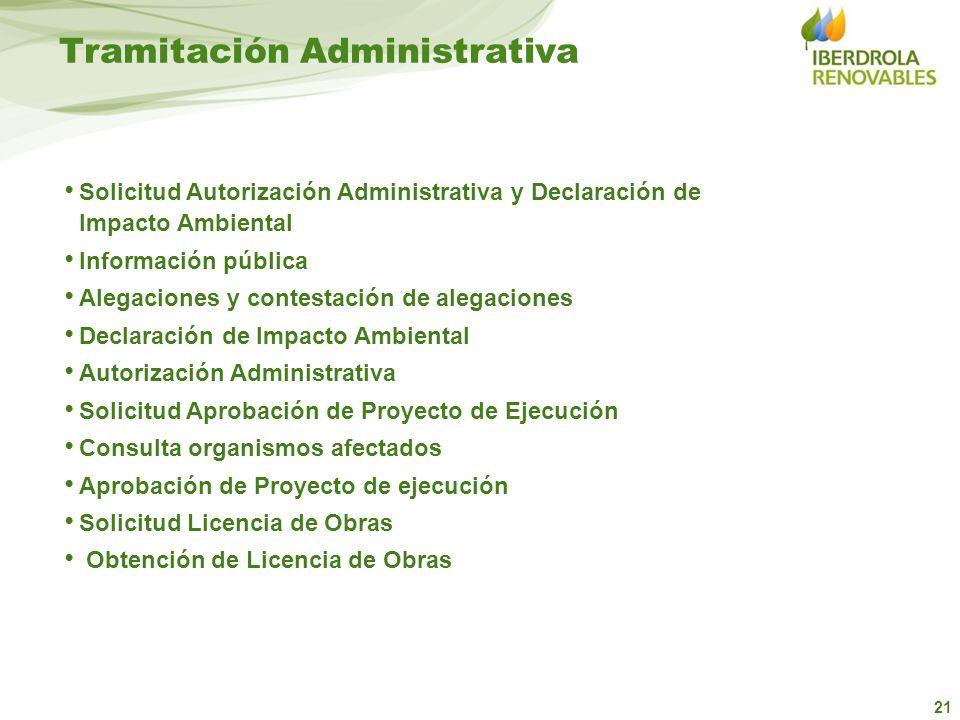 Tramitación Administrativa