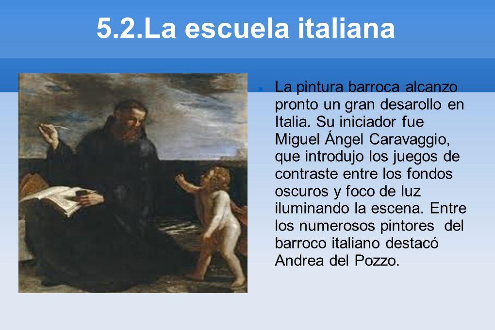 5.2.La escuela italiana