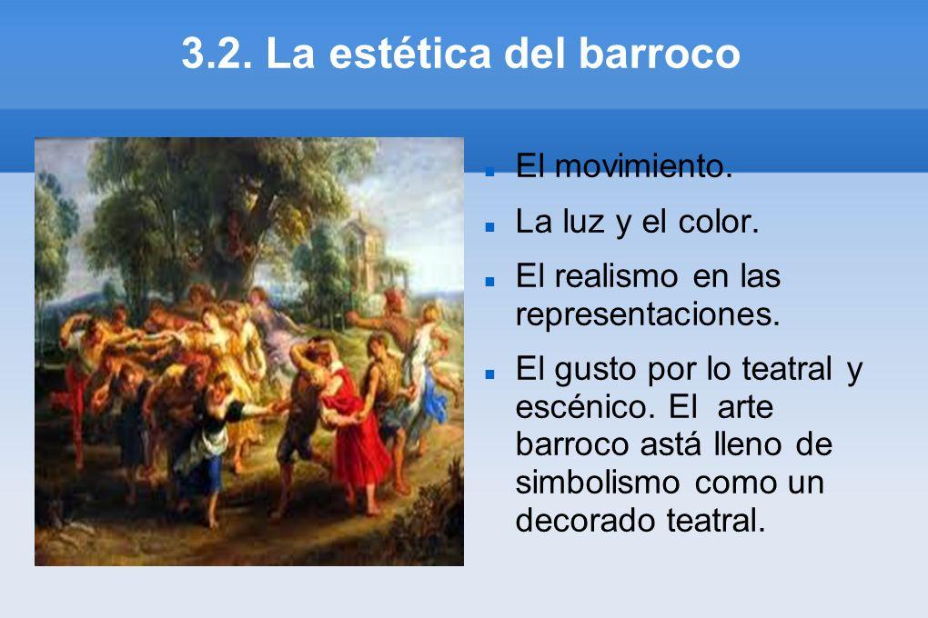 3.2. La estética del barroco